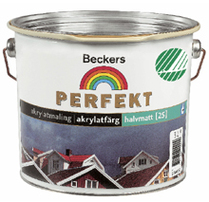 Beckers utomhusfärg pris