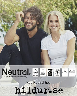 Neutral ekologiska kläder hos HIldur.se